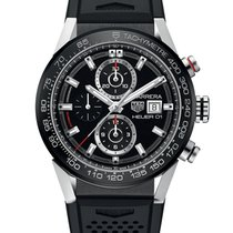 TAG Heuer Carrera Calibre HEUER 01 Steel 43mm Black