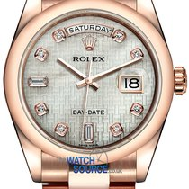 Rolex Day-Date 36 Or rose 36mm Nacre