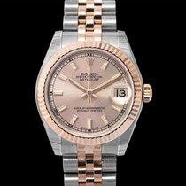 Rolex Oro rosa Automático Plata 31mm nuevo Lady-Datejust