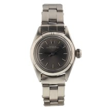 Rolex Automatic 1967 pre-owned Oyster Perpetual 26 Grey