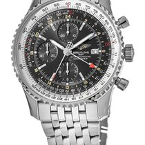 Breitling Navitimer GMT Steel No numerals United States of America, New York, Brooklyn