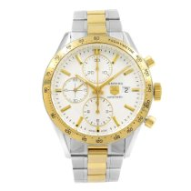TAG Heuer Carrera Calibre 16 Gold/Steel 41mm Silver No numerals United States of America, New York, NYC