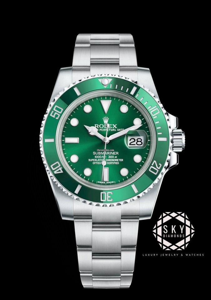 Rolex Submariner Green Ceramic 116610LV Hulk