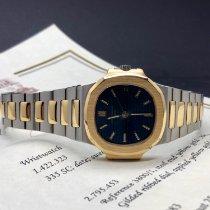 Patek Philippe 3800 Guld/Stål 1983 Nautilus 37mm begagnad
