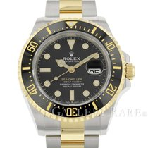 Rolex new Automatic Chronometer Rotating Bezel Screw-Down Crown Helium Valve 43mm Gold/Steel Sapphire Glass