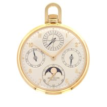 Patek Philippe Perpetual Calendar Yellow gold 46mm Silver United States of America, California, Beverly Hills
