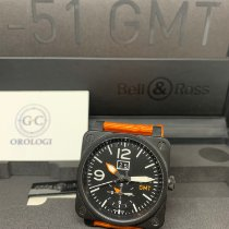 Bell & Ross BR 03-51 GMT Steel Black