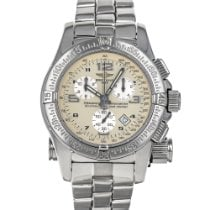 Breitling Emergency pre-owned 45mm Silver Chronograph Date Steel