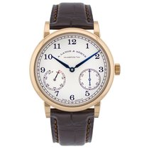 A. Lange & Söhne 1815 Rose gold 39mm Silver Arabic numerals United States of America, Florida, Sunny Isles Beach