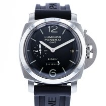 Panerai Luminor 1950 8 Days GMT Steel 44mm Black United States of America, Georgia, Atlanta
