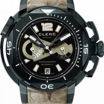 Clerc Hydroscaph L.E. Central Chronograph Steel 43.8mm
