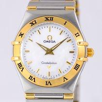 Omega Constellation MOP Stahl/Gold Klassiker B&P Luxus Perlmutt