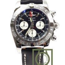 Breitling Chronomat 44 GMT AB042011/BB56 Black Dial NEW