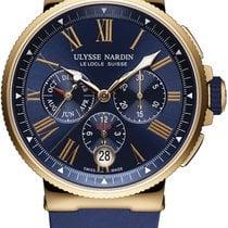 Ulysse Nardin Marine Chronograph 1532-150-3/43 2020 neu