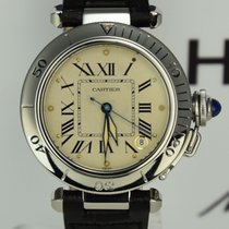 Cartier Pasha C Automatic Seatimer Ref 1030 Stahl 35mm