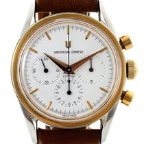 Universal Genève Compax 384.445 1997 pre-owned