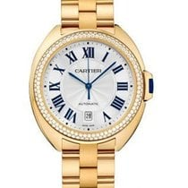Cartier WJCL0010 Cle de Cartier Automatic in Yellow Gold with...