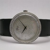 Dior Cd042112a001 121 Diamond Bezel & Dial Quartz 33mm Mop...