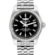 Breitling a7433053/be08/376a Galactic 36 SleekT in Steel With...