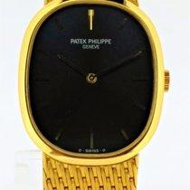 Patek Philippe Golden Ellipse 3548/1 Very good Yellow gold Manual winding