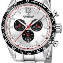 Candino new Chronograph Steel