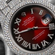 Rolex Datejust II Steel 41mm Red Roman numerals United States of America, New York, New York