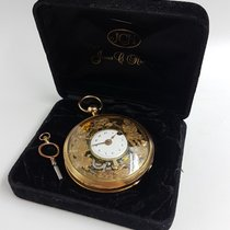 Jacquemart 18 K Gold Quarter Repeater Pocket Watch