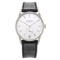 NOMOS Steel Manual winding White 38mm new Orion Datum