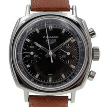 Heuer Chronograph 37mm Manual winding pre-owned