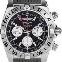 Breitling Chronomat 44 GMT neu Automatik Uhr mit Original-Box und Original-Papieren AB0420B9/BB56/200S