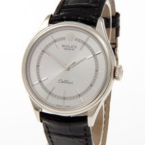 Rolex Cellini Time Witgoud 39mm Zwart