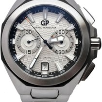 Girard Perregaux Steel 44mm Automatic 49970-11-131-11A pre-owned
