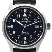 IWC Pilot Mark Staal 38mm Zwart