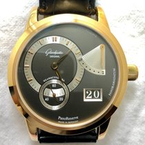 Glashütte Original PanoReserve Or jaune 40mm