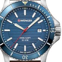 Wenger Acero 43mm Cuarzo 01.0641.130 nuevo