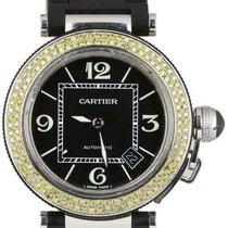 Cartier Pasha Seatimer Steel 40mm Black Arabic numerals United States of America, New York, Lynbrook