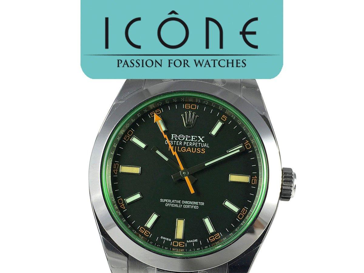 a479762aad7d Rolex Milgauss GV Green Sapphire