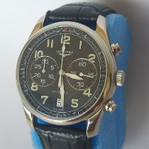 Longines Avigation pre-owned 40mm Leather