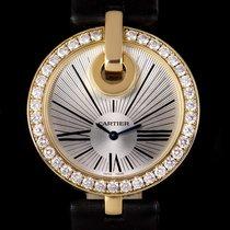 Cartier подержанные Кварцевые 35mm Cеребро Сапфировое стекло