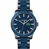 Lacoste Steel 43mm Quartz 2010922 new