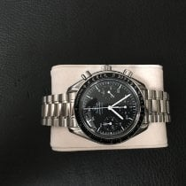 Omega Speedmaster Reduced Acier 39mm Noir Arabes France, landerneau