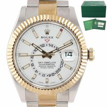 Rolex Sky-Dweller Gold/Steel 42mm Silver United States of America, New York, Huntington