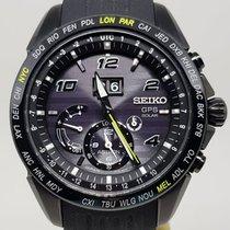 精工 Astron GPS Solar 45.5.mm 黑色 無數字