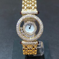 Chopard Happy Diamonds 20/5617-21 Very good Yellow gold Quartz United Kingdom, Leicester