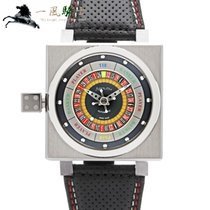 Azimuth Steel 45mm Automatic KING CASINO-SS new