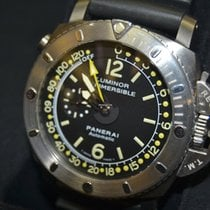 沛納海 Luminor Submersible 1950 Depth Gauge 鈦