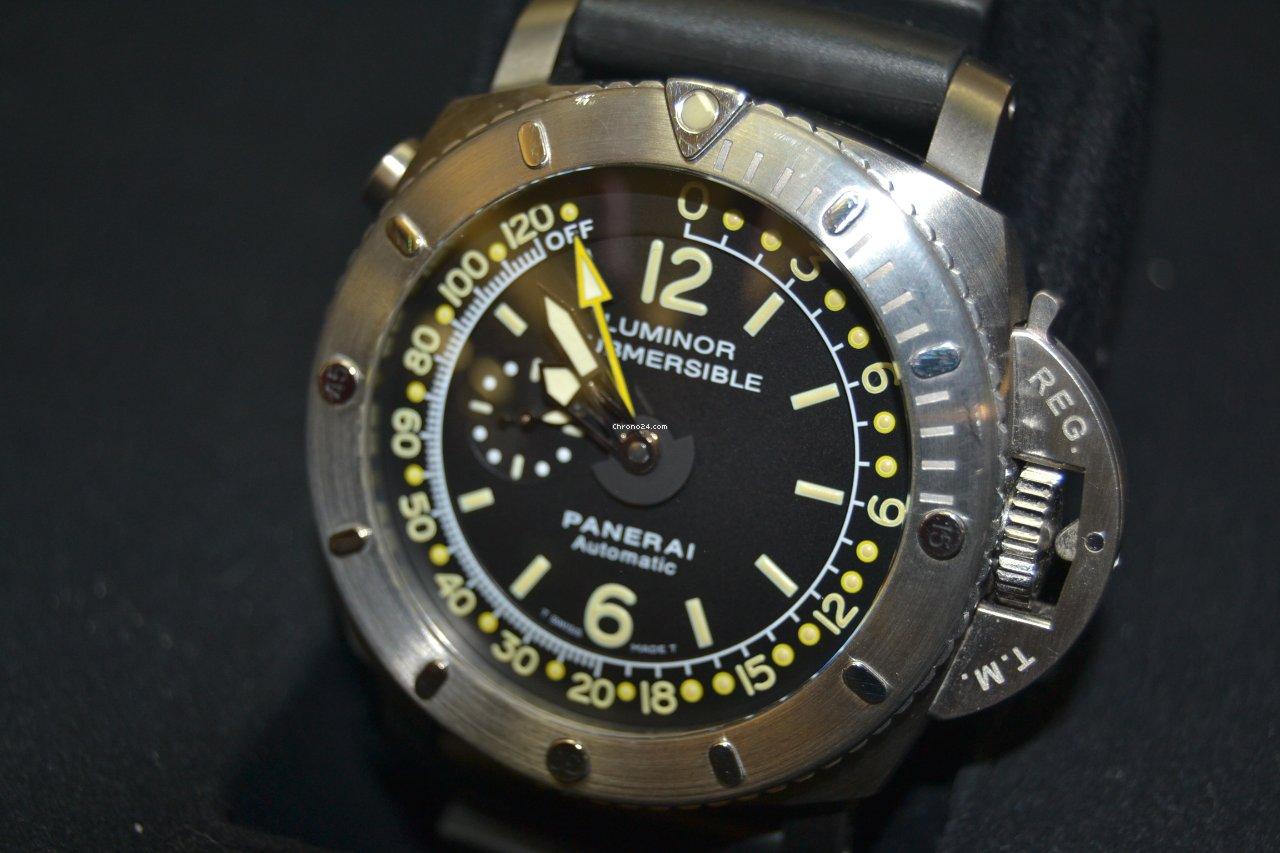 31d16498665 Panerai Luminor Submersible 1950 Depth Gauge - Todos os preços de relógios  Panerai Luminor Submersible 1950 Depth Gauge na Chrono24