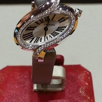Cartier Délices de Cartier White gold Silver Roman numerals
