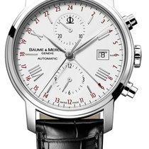 Baume & Mercier Cronografo 42mm Automatico nuovo Classima Bianco