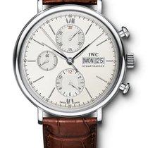 IWC PORTOFINO Chronograph Automatic Silver Dial 42mm IW391007 T